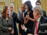 Small Business Owners Meet With President Trump