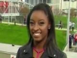Simone Biles Shares Advice For Super Bowl Competitors