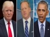 Sean Spicer Addresses Trump's Git 00004000 Mo Tweet