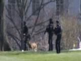 Source: Secret Service Respond To Fence Jumper At WH