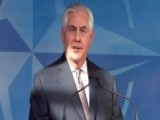 Secretary Of State Tillerson Tells NATO Allies To Pay Up