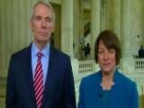 Sens. Portman, Klobuchar Talk Syria, Gorsuch, Opioid Crisis