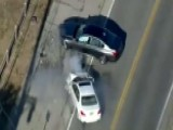 Stolen Car Chase Ends In Head-on Collision