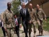 Secretary Mattis Makes Surprise Visit To Afghanistan