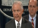 Sessions: Prosecutors Deserve To Be Unhandcuffed From D.C