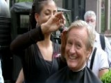 Steve Doocy And Brian Kilmeade Get Haircuts On The Plaza