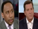Stephen A. Smith And Eric Bolling Spar Over Trump's Tweets