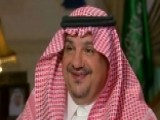 Saudi Minister Of State Talks Arms Deal, Fighting Terror