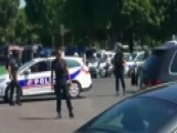 Suspect Detained After Driving Into Police Car In Paris