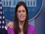 Sarah Huckabee Sanders Spars With Reporter Over 'fake News'
