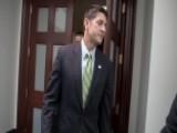 Speaker Ryan Has Gloomy Forecast If GOP Can't Pass Agenda