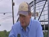 Senator Ted 00004000 Cruz Tours Flooded Hometown