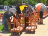South Florida Residents Flock To Home Depot For Supplies