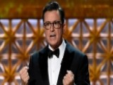 Stephen Colbert Takes Aim At Trump During The Emmy's