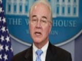 Sec. Tom Price's Charter Flights Under Investigation