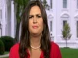 Sarah Sanders Addresses Corker's Latest Criticism Of Trump