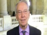 Sen. Grassley Discusses Ending GOP Holdouts On Tax Reform