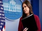 Sarah Sanders Spars With Reporters At White House Briefing