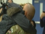 Solider Surprises 9-year-old Daughter At School