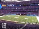 Super Bowl 2018: Sneak-peek Inside US Bank Stadium