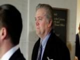 Steve Bannon Invokes Executive Privilege At House Interview