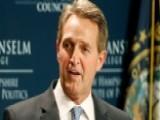 Sen. Jeff Flake Calls For A Republican Challenge To Trump