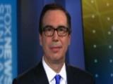 Steven Mnuchin Talks Trade War Fears, Stock Market Jitters