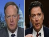 Sean Spicer Challenges James Comey's Account Of Meeting