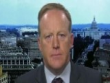 Sean Spicer Reacts After FBI Officials Abruptly Resign