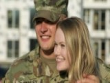 Soldier's Surprise Homecoming Turns Into A Proposal