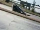 Sinkhole Swallows Car Whole Near Denver