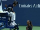 Serena Blasts Umpire After Losing Historic Match
