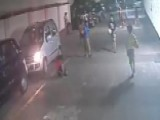 Shocking Video: Boy Escapes After Being Run Over By Car