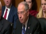 Sen. Grassley Scolds Staffer: Speak Plainly With Me Please
