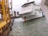 Shocking Video: Passenger Ferry Crashes Into Barcelona Port