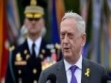 Secretary Of Defense General Mattis Will Be Leaving The Administration At The End Of February, Trump Tweets Announcement