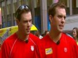 Tennis Twins Partner With FDNY For Charity