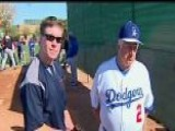 Tommy Lasorda Gets Vet Spring Training Workout