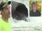 Teen Sucked Into Drain Pipe Rescued By Fisherman