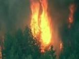 Thousands Evacuate As Calif. Blaze Spreads