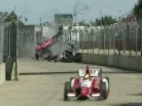 Three-time Indy Winner Crashes In Houston Race