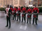 The Scarlet Knights Rutgers Drum Line