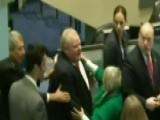 Toronto Mayor Knocks Over Elderly Councilwoman