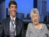 Teen Takes Great-grandma To His Prom