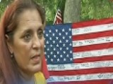 Tribute Flag Returned To Fallen Marine's Mother