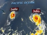 Tracking Hurricanes Iselle And Julio