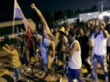 Tempers Flare Among Protesters In Ferguson