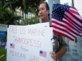 Tahmooressi Support Loud And Clear At CA Gov's Mansion