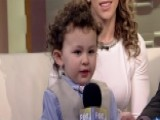 Two-year-old Sings National Anthem Perfectly