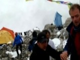 Terror On Mt. Everest: Avalanche Crashes Into Base Camp